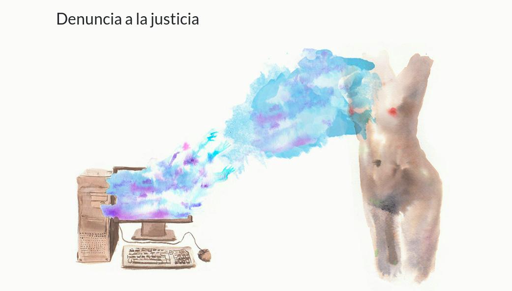 acoso.online ilustración
