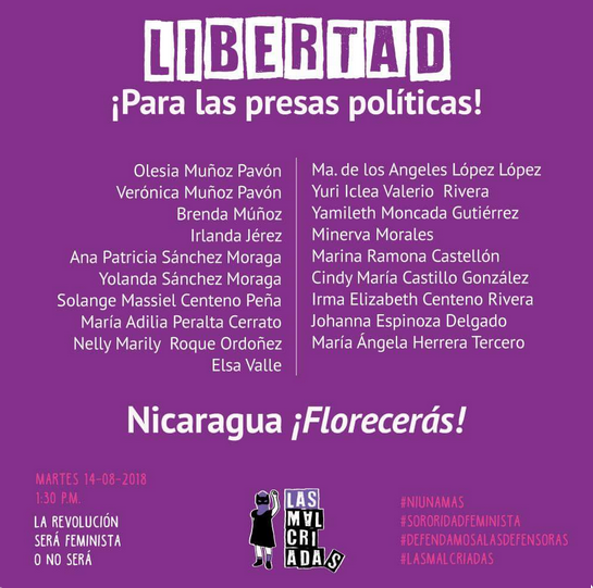 Flyer Las Malcriadas