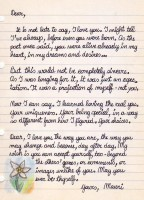 Letter to my wife love www A Valentine