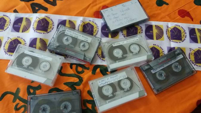 16 Days Cassettes