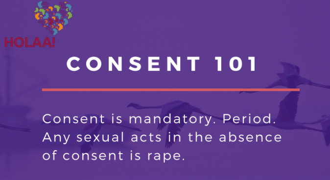 Consent flow chart