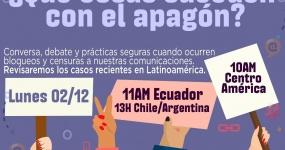 ¿Qué cosas suceden con el apagón? Experiencias de censura y apagones de internet en América Latina