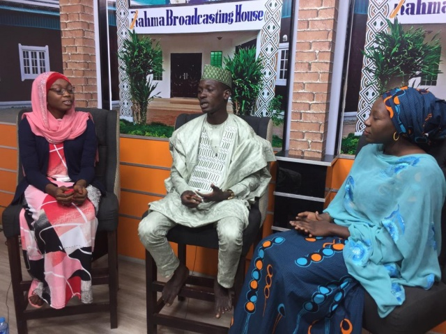 CITAD members discuss online gender based violence on Rahma TV.